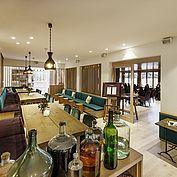 Aussenbereich Gourmetrestaurant Bootshaus - © Landhotel Das Traunsee