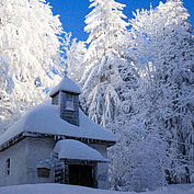 Radstatt Kapelle Mondseeberg im Winter, (c) TVB MondSeeLand