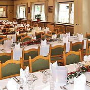© Landhotel Post - Saal Hochzeit