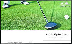 Golf Alpin Card
