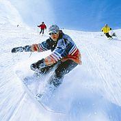 Snowboarden im Weberlandl