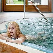 Landhotel Tirolerhof hoteleigenes Hallenbad