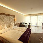 Panoramsuite - Wohn- und Schlafbereich