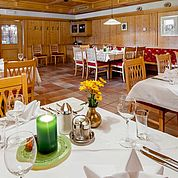 © Landhotel Tirolerhof/ Thomas Trinkl - Restaurant Antonistüberl