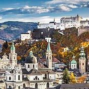 Hohenfestung Salzburg - eingegebettet in die Kulturlandschaft Österreichs
