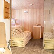 neue Sauna im Landhotel Post