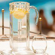"""erfrischendes Zitronenwasser im hoteleigenen Spa """"Eich-Spa"""""""