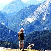 © Landhotel Presslauer - Rosskogel wandern mit Hund