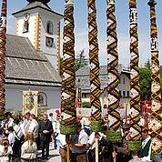 © Ferienregion Lungau - Die Prangerstangen in Zederhaus