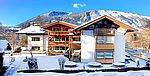 Landhotel Schütterbad Hotelansicht Winter