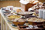 Das reichhaltige Frühstücksbuffet im Landhotel Tirolerhof