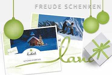 Landhotels Österreich Gutscheine - Freude schenken