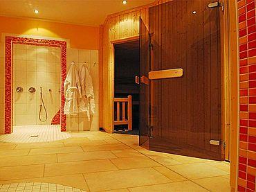 Finnische Sauna im Landhotel Traunstein