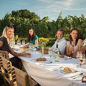 Kulinarik im Weingebiet