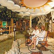 Saunawelt im Landhotel Alpenhof