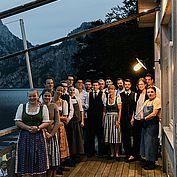 5 Jahre Restaurant Bootshaus - Das eingespielte Team freut sich über den gemeinsamen Erfolg