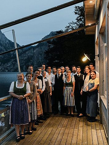 5 Jahre Restaurant Bootshaus - Das Geburtstagsteam