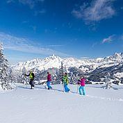 Schneeschuhwandern ein Erlebnis © CoenWeesjes/TVB Filzmoos /TVB Filzmoos
