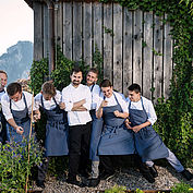 Küchenteam - © Landhotel Das Traunsee
