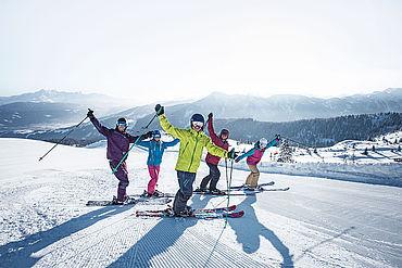 Skifahren mit Freunden, © Snow Space Salzburg | www.snow-space.com