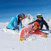 Skiurlaub mit Tiefschnee Erlebnis © Nassfeld