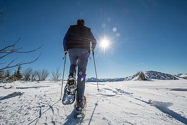 Schneeschuhwandern am Feuerkogel, © STMG, Fotograf: Wolfgang Stadler