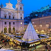 Christkindlmarkt ©Tourismus Salzburg Foto Guenter Breitegger