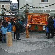 Köstlichkeiten am Adventmarkt
