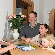 © Landhotel Berger, Josef Zingl - Check-in im Familienhotel Berger