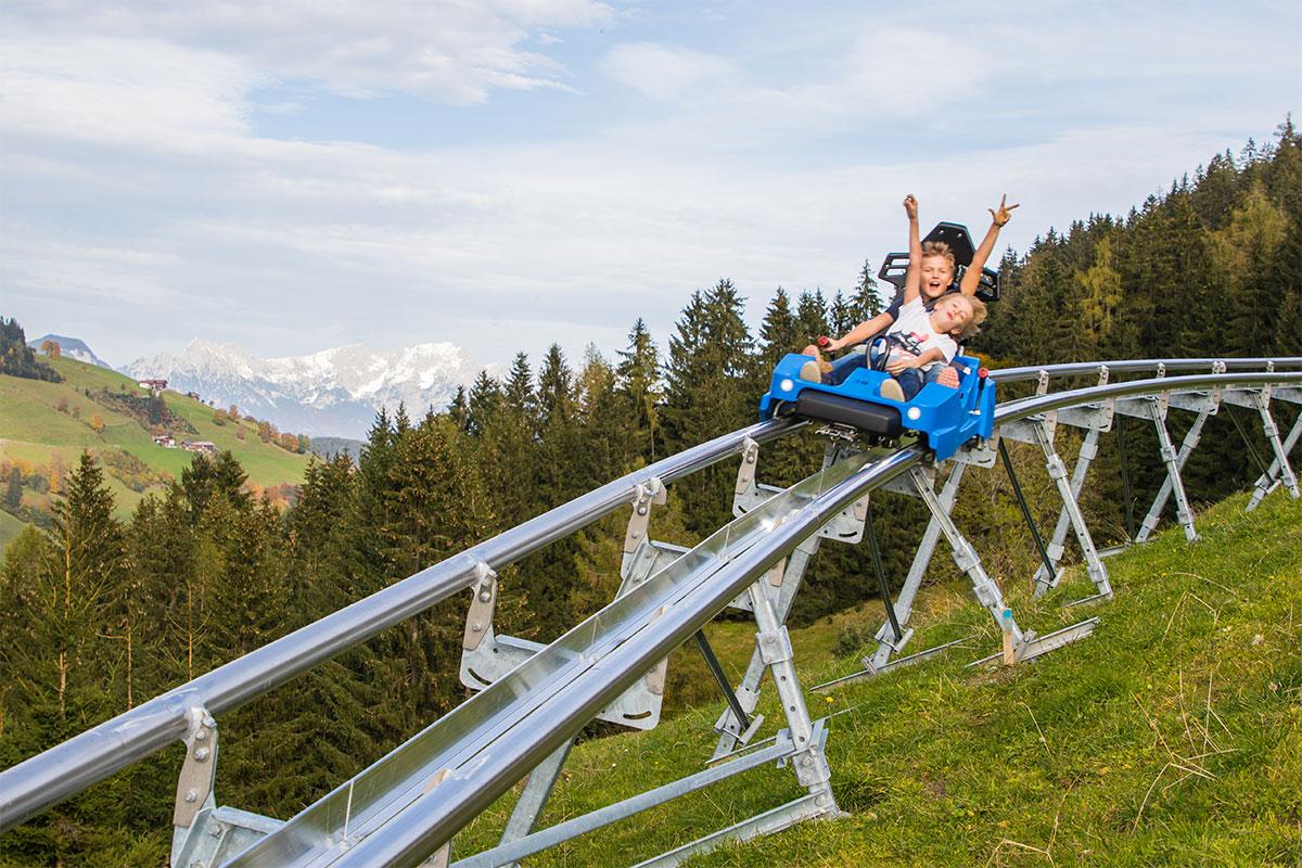 Drachenflitzer, Alpine-Coaster-Wildschönau im Sommer, Fotograf: AlexMayr, (c) Wildschönau-Tourismus