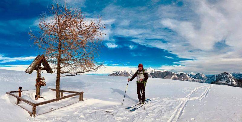 Wunderschöne Skitour im Salzburger Saalachtal